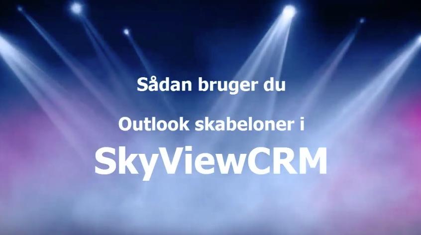 Det Er Nemt At Bruge Ms Word Skabeloner I Skyviewcrm